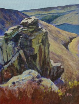 rock climbing hills