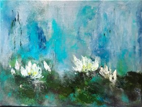 Waterlilies XII