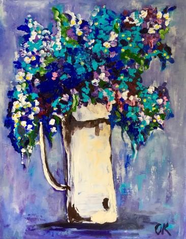 Wild Flowers in a Jar #10