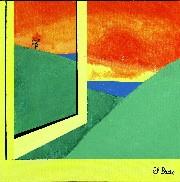 Open window green