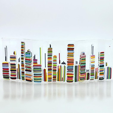 Cityscape Glass Standing Wave