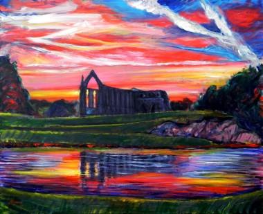 Bolton Abbey at Dusk