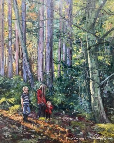 Woodland adventurers
