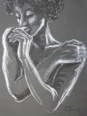 portrait of a woman with crossed arms