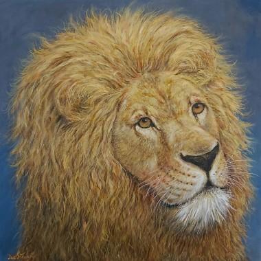 Lion full view