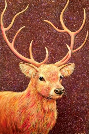 Deer full view