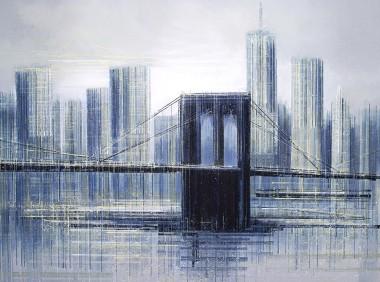 New York - Brooklyn Bridge At Daybreak