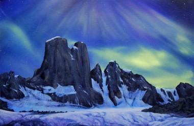 aurora, aurora borealis,  northern lights, skyscape