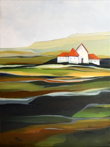 The Quiet Land - oil on canvas