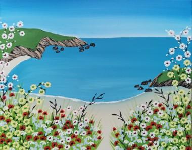 Contemporary Cornish painting