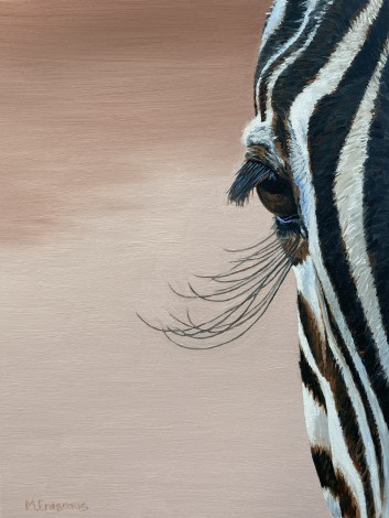 The Zebra Eye Painting