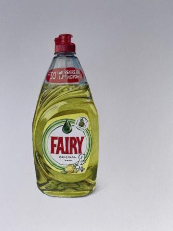 Yellow Fairy liquid