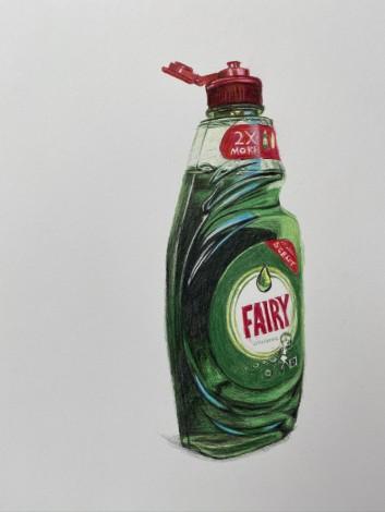 Fairy liquid drawing