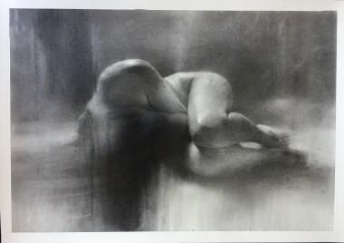 Charcoaldrawing,nude drawing,nude,charcoalart
