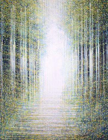 White Light Through Trees 2021
