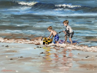 The Boys on the beach