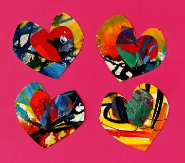 love hearts romance