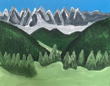 Peaks and Trees