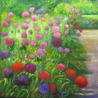 A Display of Alliums