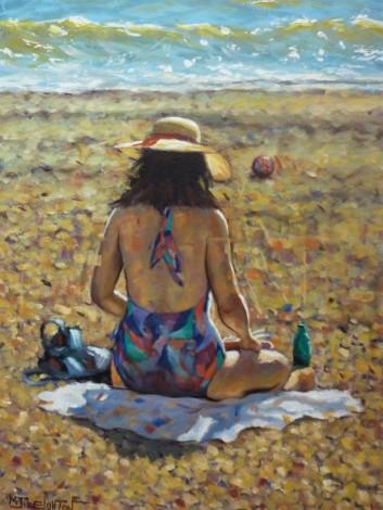 Alone at the Beach main