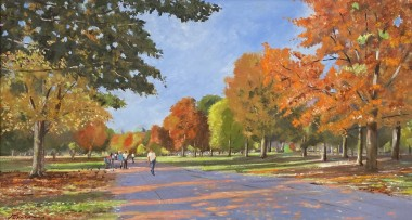 Autumn Strollers, St. James's Park