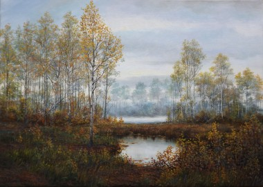 Landscape Beautiful Autumn Day