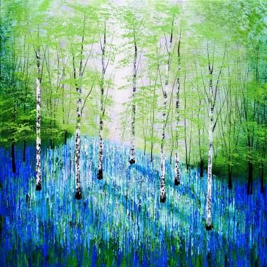 blue spring day