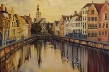 Reflections in Bruges