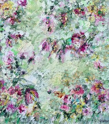 Modern Art Flower Art Abstract Art