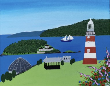 Contemporary Plymouth painting