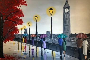 Colourful London Umbrellas