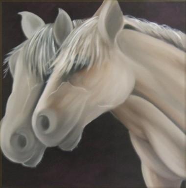 Cream Coloured Ponies