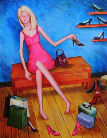 Quirky figurative art