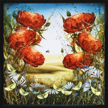 Colourful Floral landscape