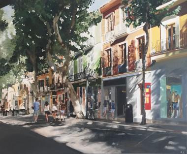 Main painting