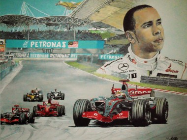 montage of one of f1 greatest talent