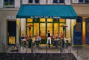 The Little Horseshoe Cafe - Paris