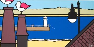 birds eye view'-ST Austell