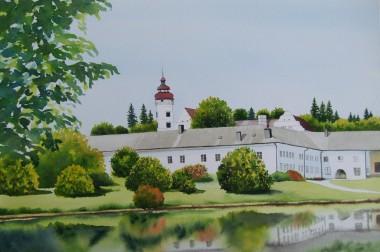 Velke Losiny manor house