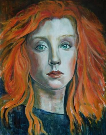#portrait #redhead #woman #face #beauty