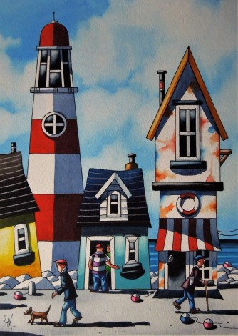 A Cornish light House