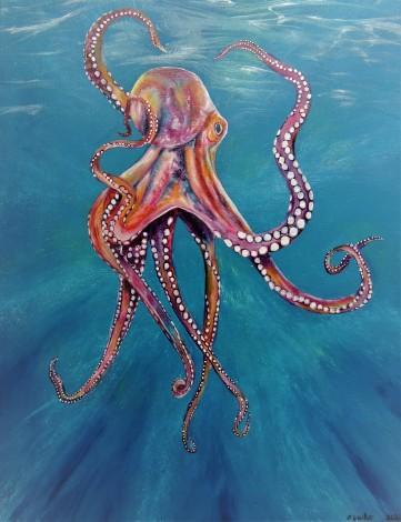Marine wildlife art