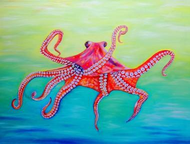 Sea creature art