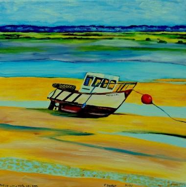 boat oil canvas