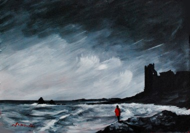 Dunure and a red coat