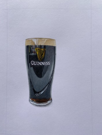 Guinness drawing