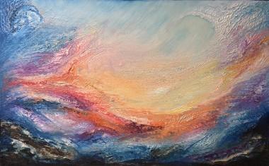 Earth Dances | Oil on canvas | 122 x 76 cm