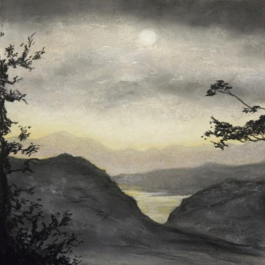 Hilly Landscape In The Evening