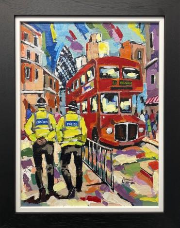 London police patrol