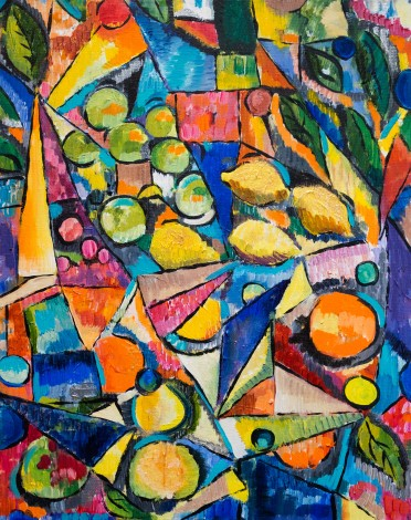 Fruit Bowl Fantasia painting for sale